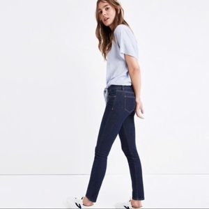 "Madewell 8"" Skinny Jeans in Quincy Wash"